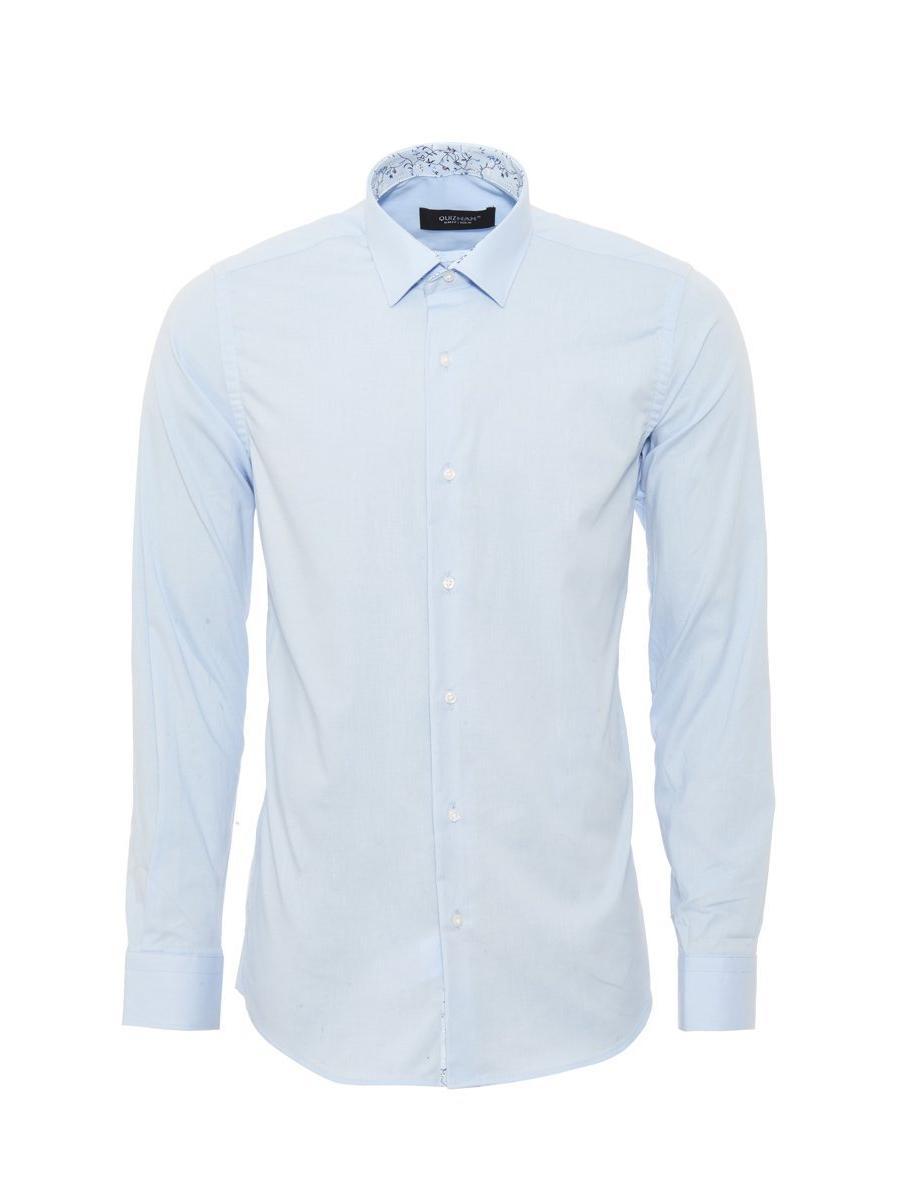 Sky Blue Formal Long Sleeve Shirt