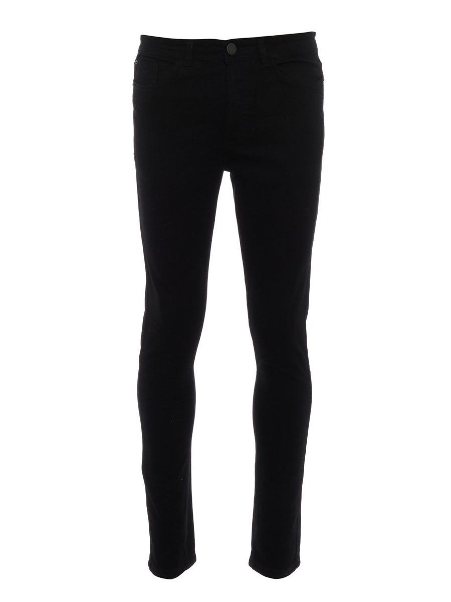 Black Stretch Denim Jeans