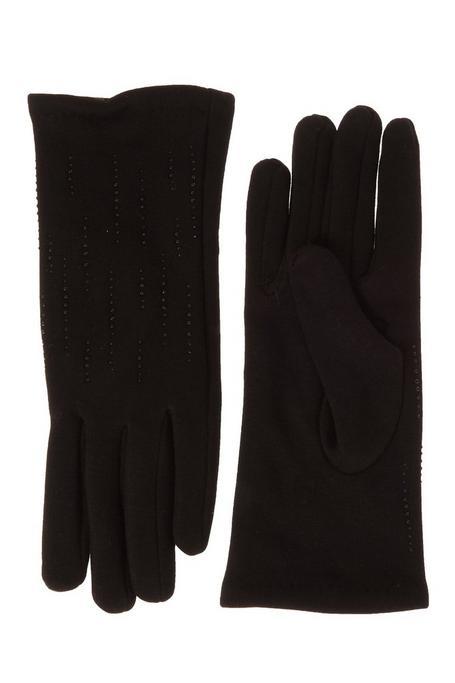 Black Jewel Gloves