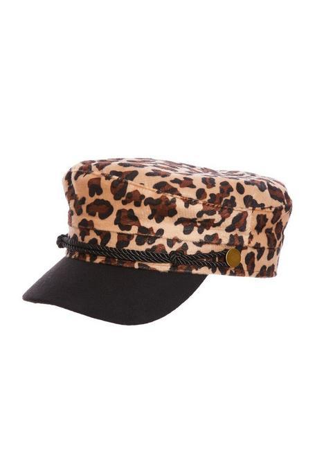 Leopard Baker Hat