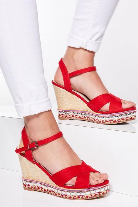 Sandalias de Cuña de Antelina Rojas