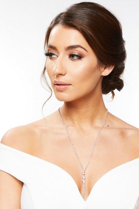 Rose Gold Long Tassel Necklace