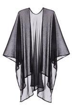 Kimono Negro Brillante