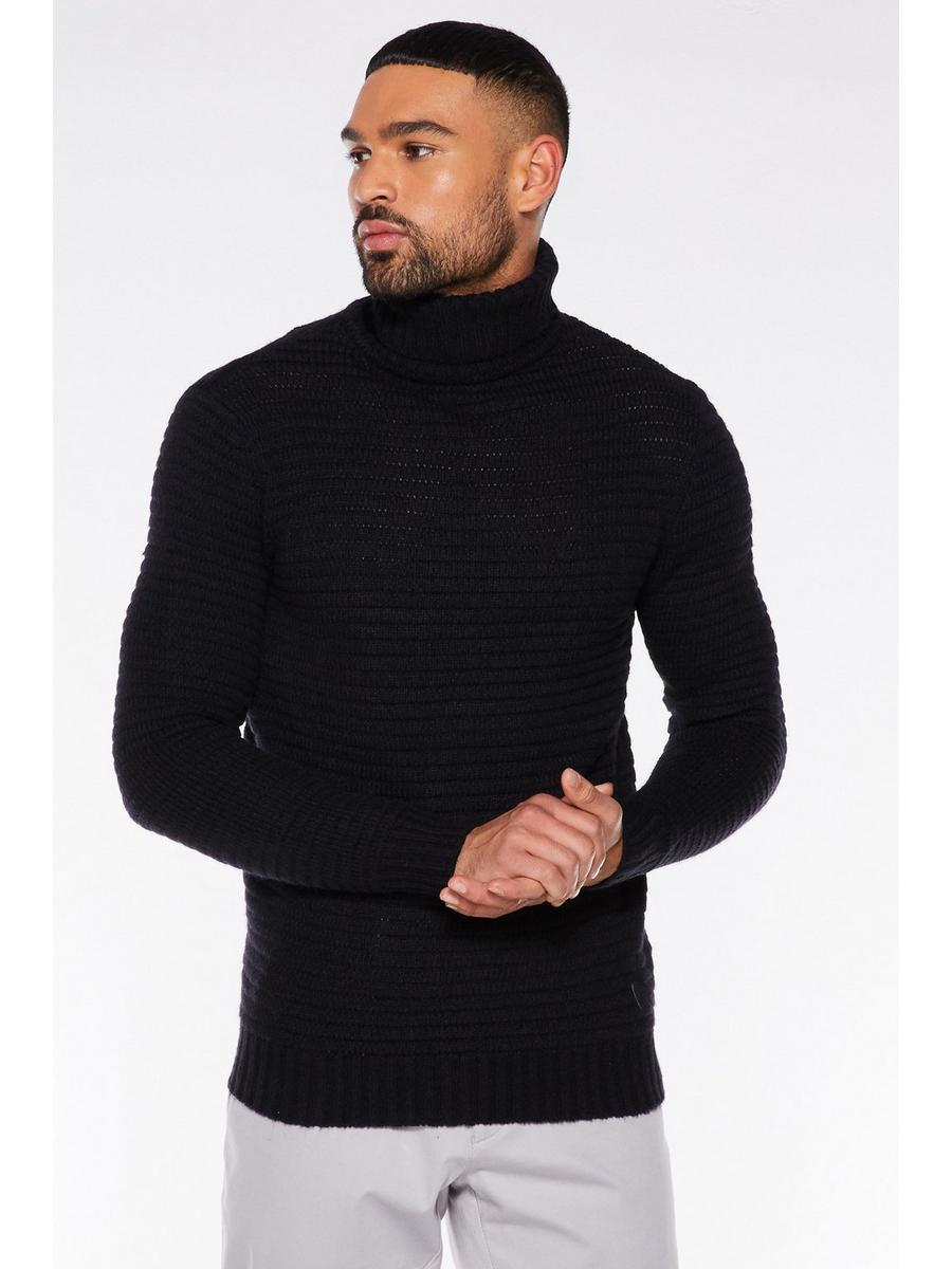 ROLL NECK JUMPER In Navy