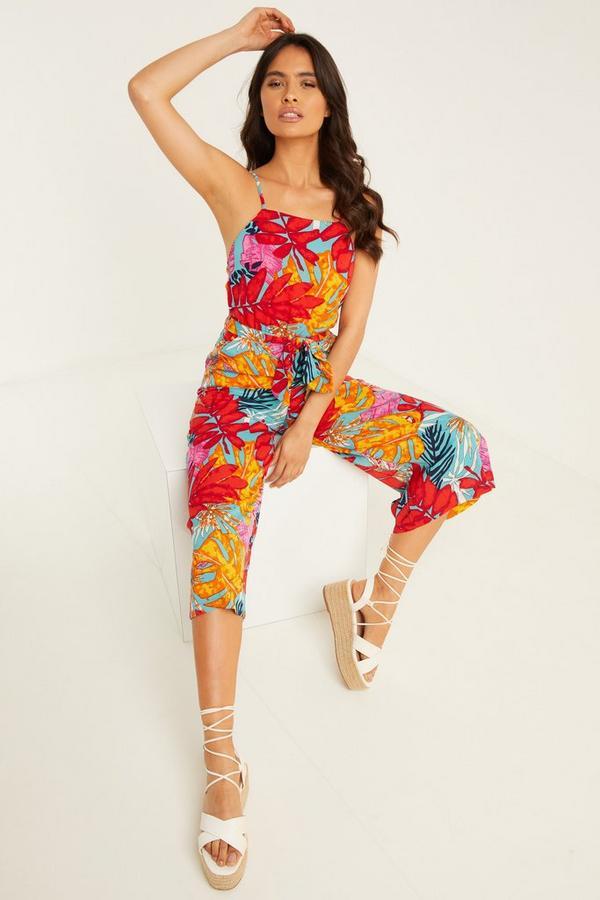 Mono Culotte Tropical Multicolor