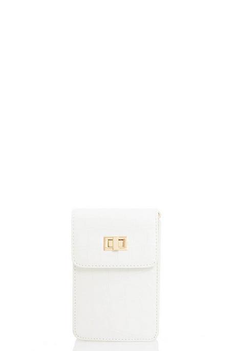 White Micro Bag