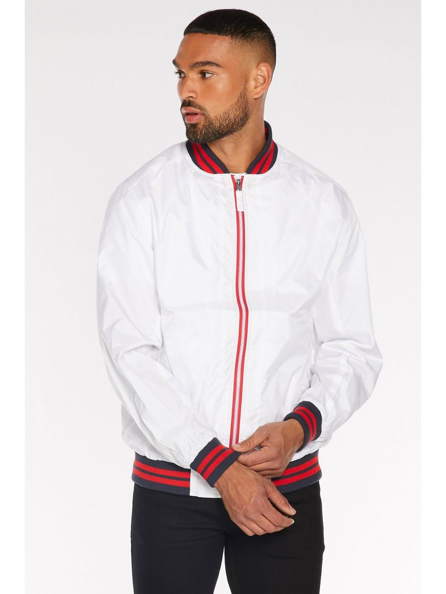 Contrast Lightweight Bomber in White