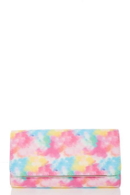 Bolso Clutch Multicolor Tie Dye