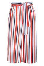 Pantalón Petite Culotte a Rayas Blanco, Rojo y Azul