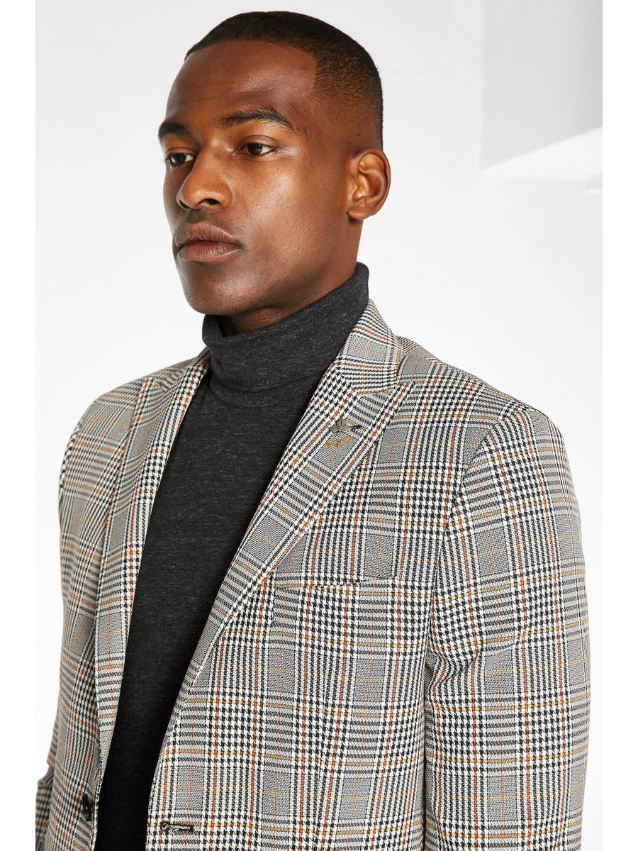 All Over Dog Tooth Check Blazer