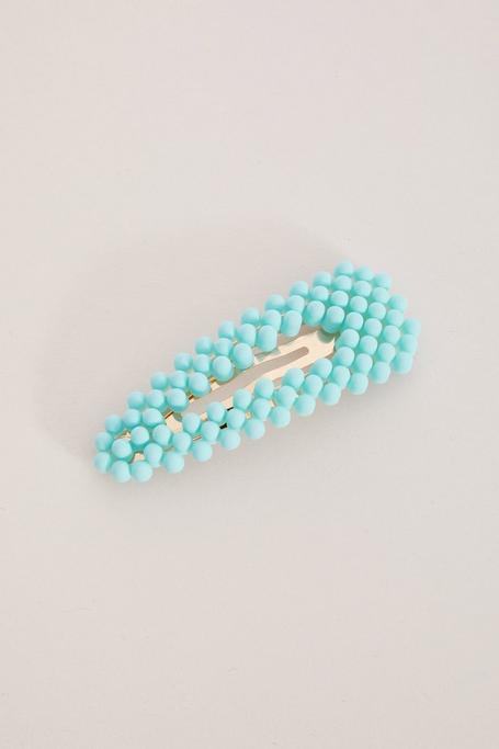 Blue Neon Hair Clip
