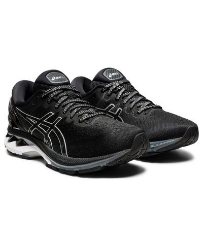ASICS Gel Kayano 27  Trainers, Black | Sweaty Betty
