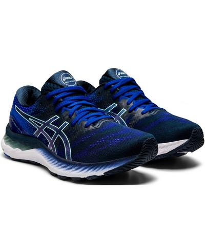 ASICS Gel-Nimbus 23 Trainers, BLUE | Sweaty Betty
