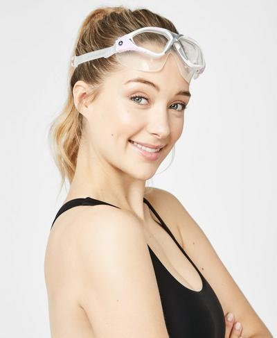 Aquasphere Vista Goggles, PINK | Sweaty Betty