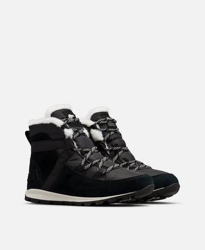 Sorel Whitney Flurry Boot, Black | Sweaty Betty