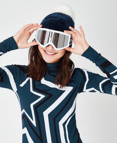 Anon Helix 2 Sonar Goggles, White | Sweaty Betty