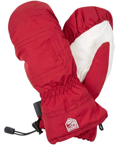 Hestra Czone Powder Female Mittens, RED | Sweaty Betty