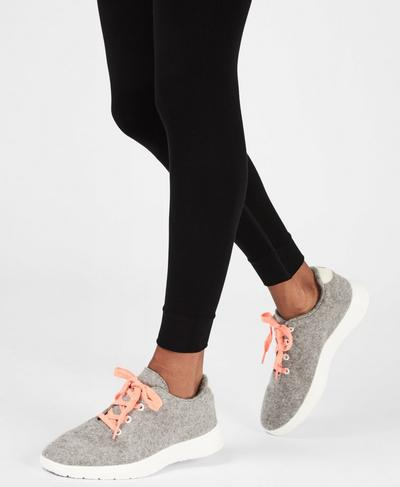 Egos Lightweight Trainers, Natural Grey | Sweaty Betty