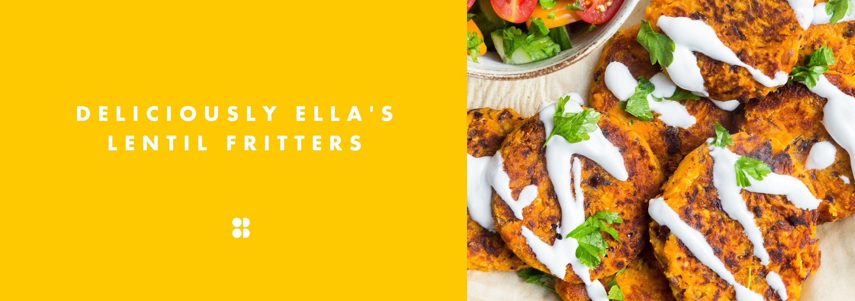Deliciously Ella's Red Lentil Fritters