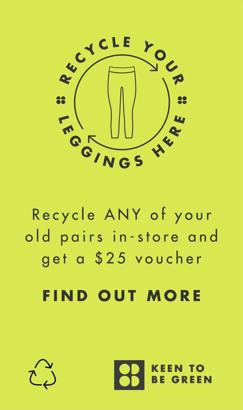 Recycle your leggings.