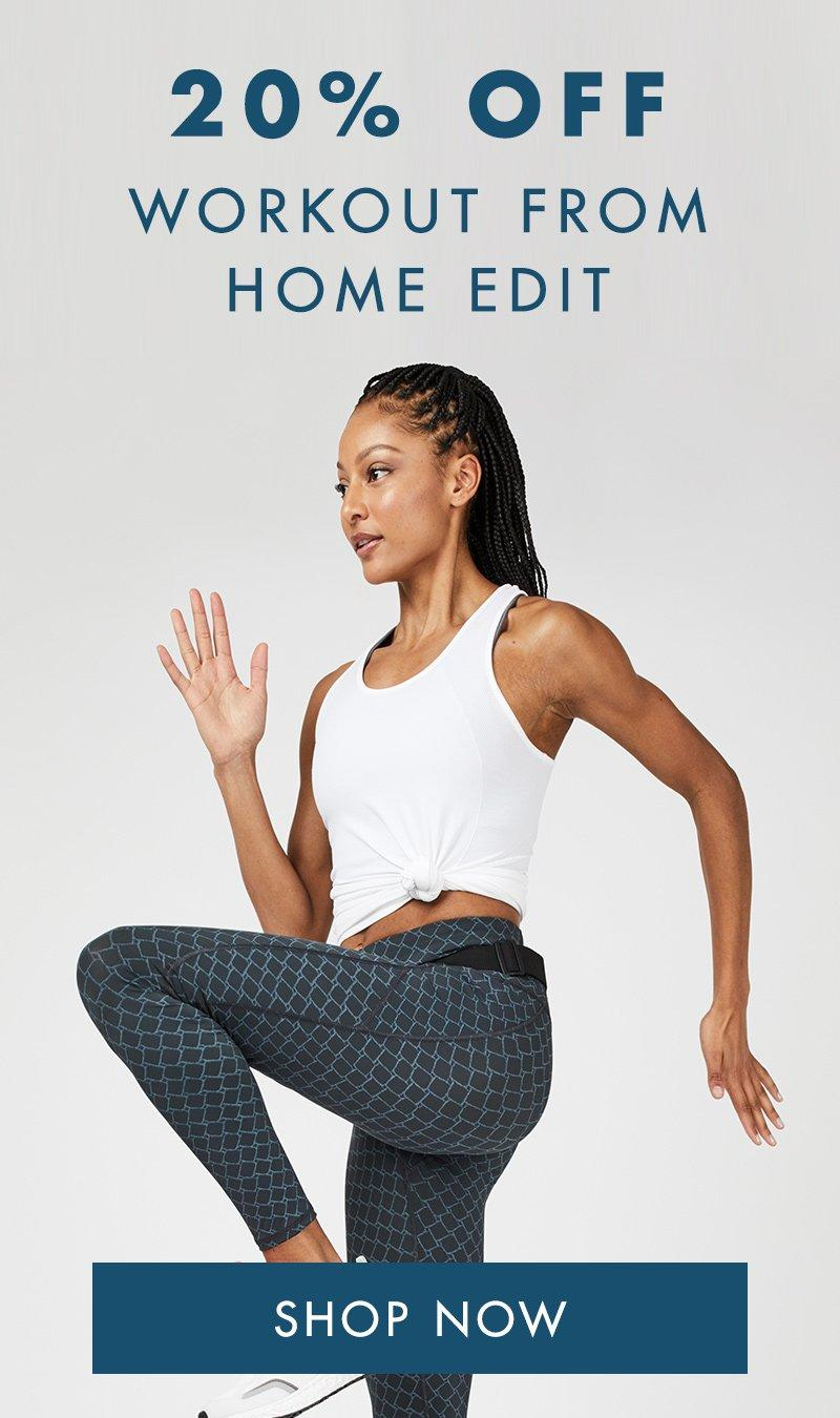 20% Off Workout From Home Edit