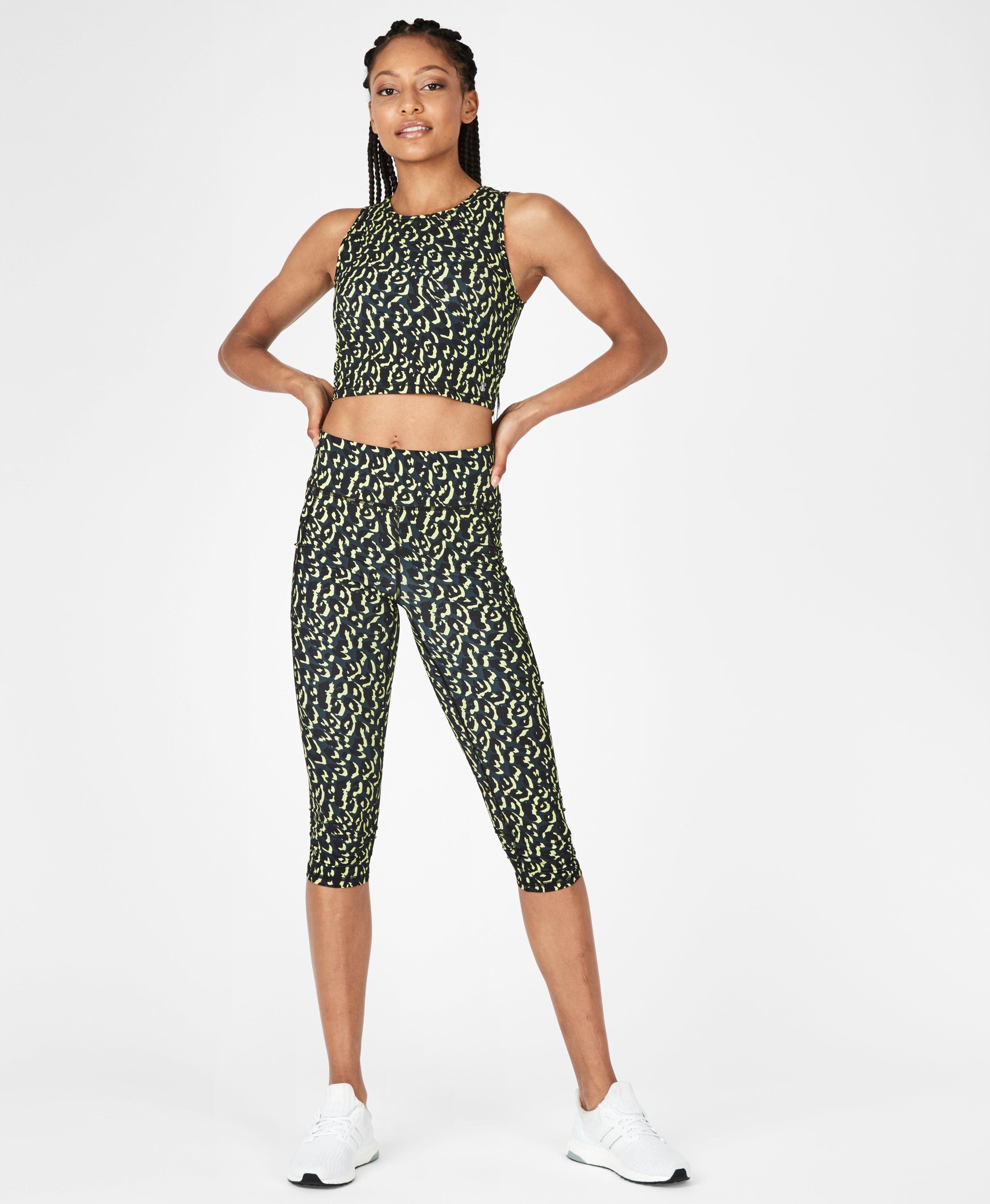 Zero Gravity Citrus Leopard Print Set,  | Sweaty Betty