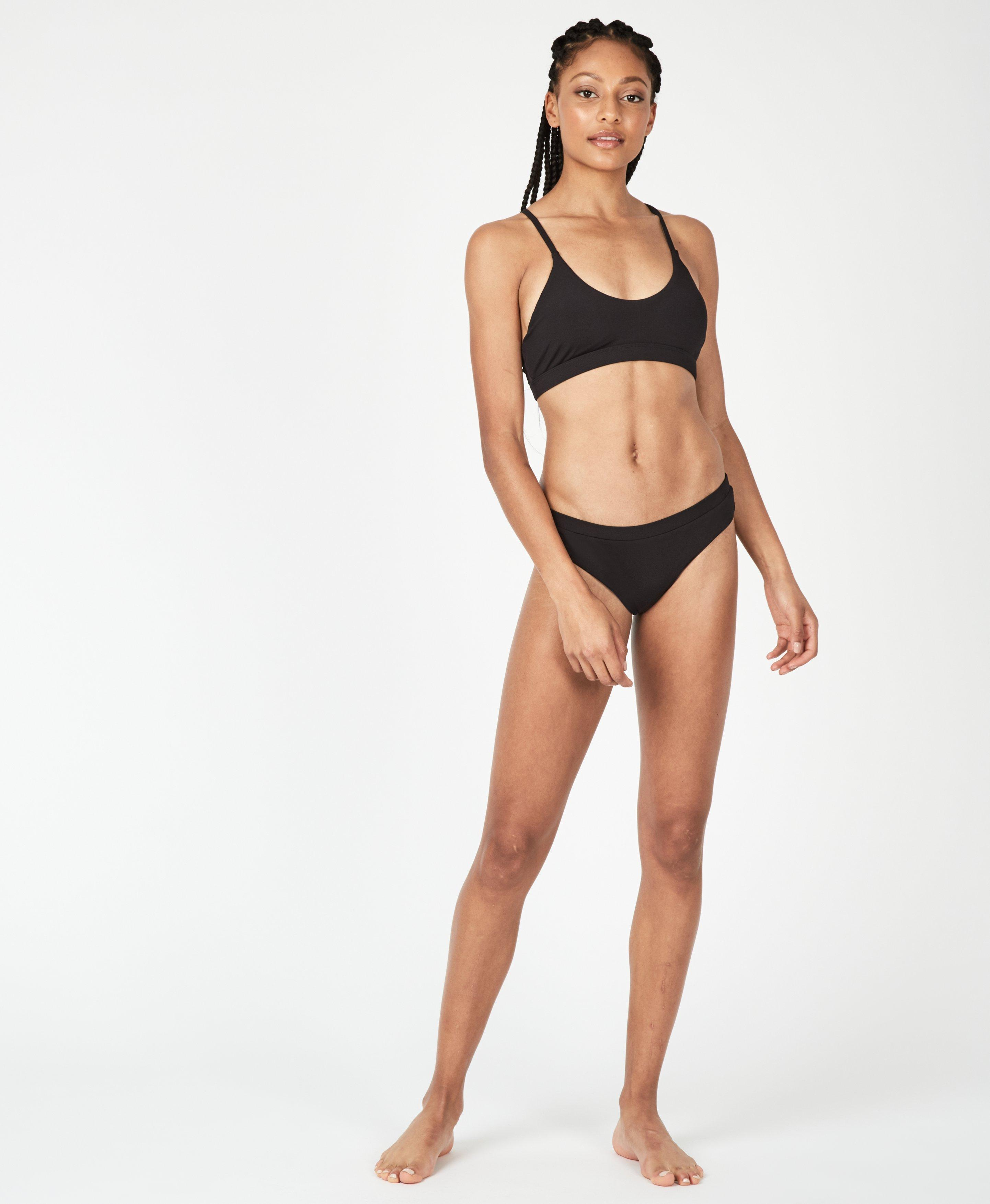 Rib Black Bikini Set,  | Sweaty Betty