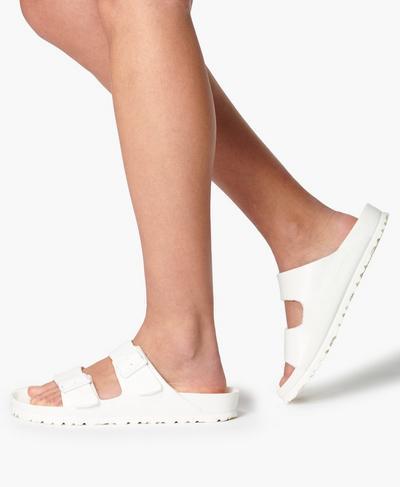 Birkenstock EVA Arizona Sandals, White | Sweaty Betty