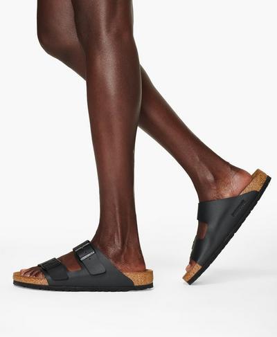 Birkenstock Classic Arizona Sandals, Black | Sweaty Betty