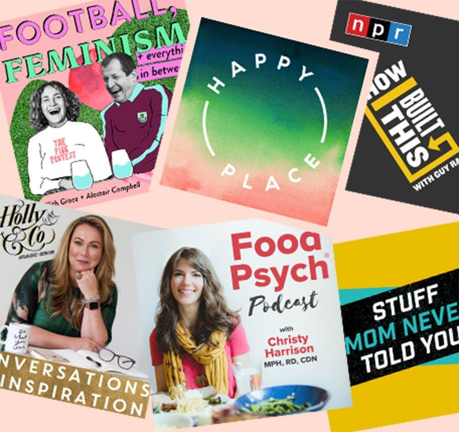 Our Favourite Podcasts For Motivation