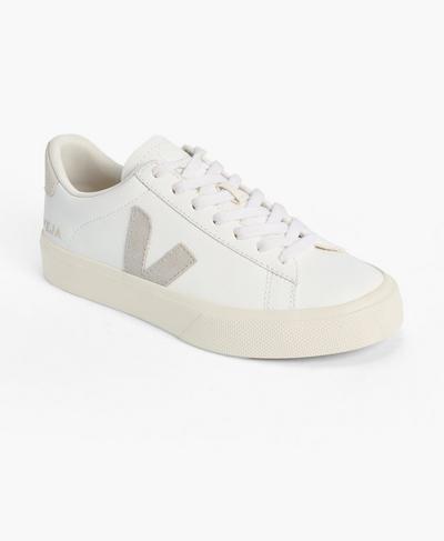 Veja Campo Chromefree Suede Sneakers, Ecru A | Sweaty Betty