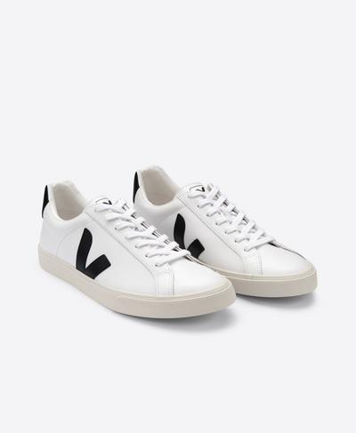 Veja Esplar Leather Sneakers, White | Sweaty Betty