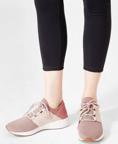 New Balance Fresh Foam Cruz Sneakers, ROSE | Sweaty Betty