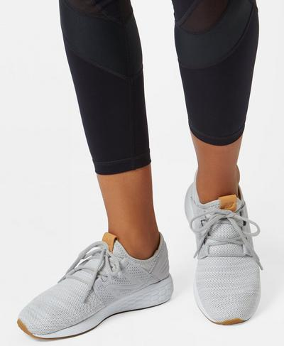 New Balance Fresh Foam Cruz Trainers, Silver Grey | Sweaty Betty