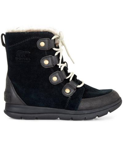 Sorel Explorer Joan Snow Boots, Black | Sweaty Betty