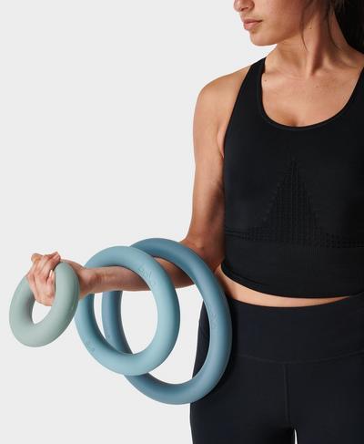 Bala Power Ring 3 Set, BLUE   Sweaty Betty