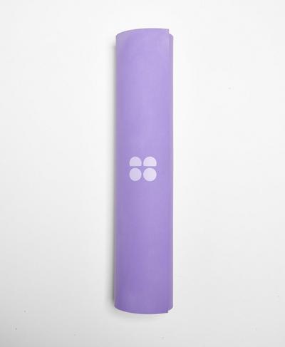 Super Grip Yoga Mat, Cornflower Blue | Sweaty Betty