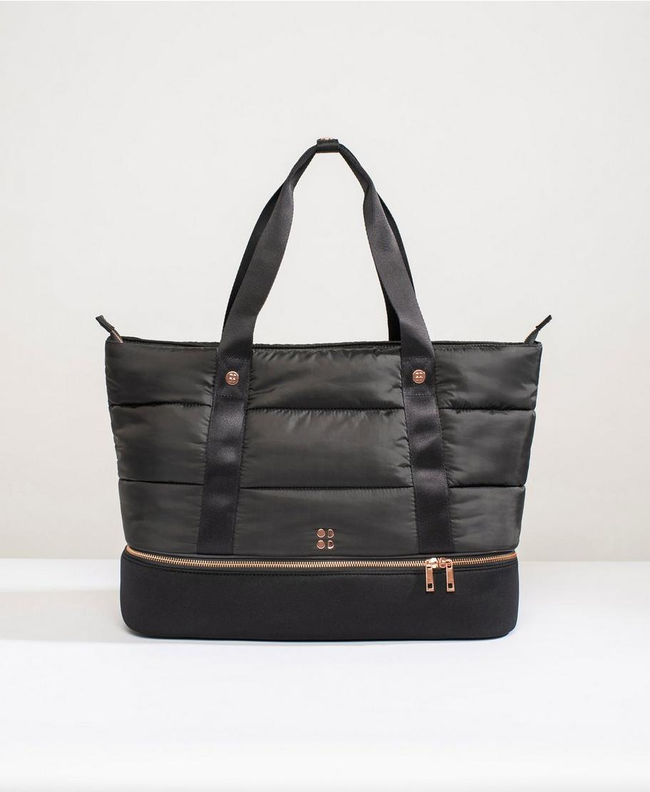 ad2543c81352 Luxe Gym Bag - Black