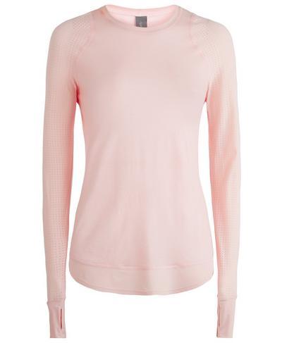 Breeze Merino Long Sleeve Run Top, Liberated Pink | Sweaty Betty