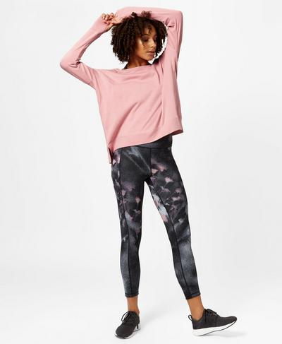 Simhasana Sweatshirt, ROSE | Sweaty Betty