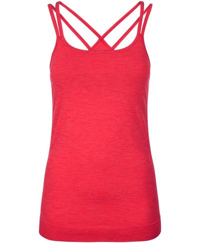 Namaska Padded Yoga Tank, Retro Red | Sweaty Betty