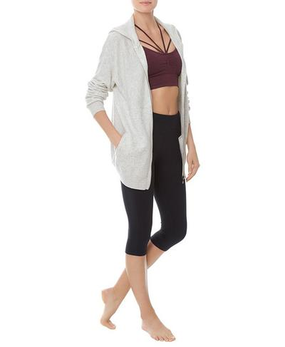 Assemble Wool Cashmere Knitted Hoodie, Westfjords White | Sweaty Betty