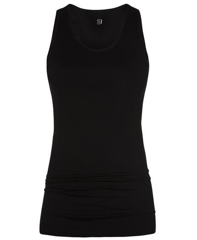 Athlete Seamless Workout Tank, Black | Sweaty Betty
