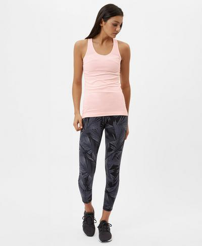 Athlete Seamless Workout Tank, Liberated Pink | Sweaty Betty