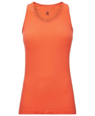 Athlete Seamless Workout Tank, Orange   Sweaty Betty