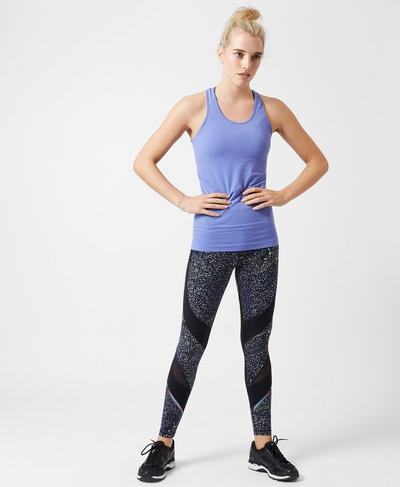 Athlete Seamless Workout Tank, Psychedelic Violet | Sweaty Betty