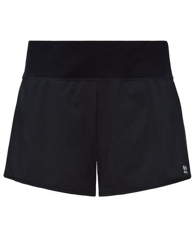 Time Trial Run Shorts, Black | Sweaty Betty