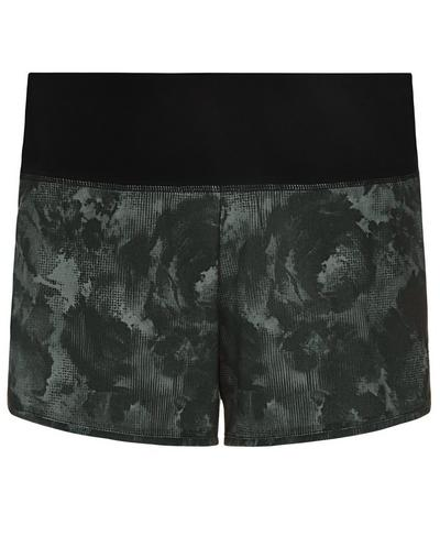 Time Trial Run Shorts, Black Market Floral | Sweaty Betty