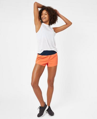 Time Trial Run Shorts, MELON | Sweaty Betty