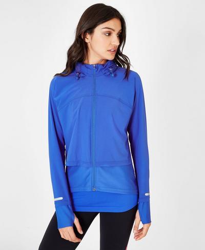 Fast Track Running Jacket, Ultramarine | Sweaty Betty